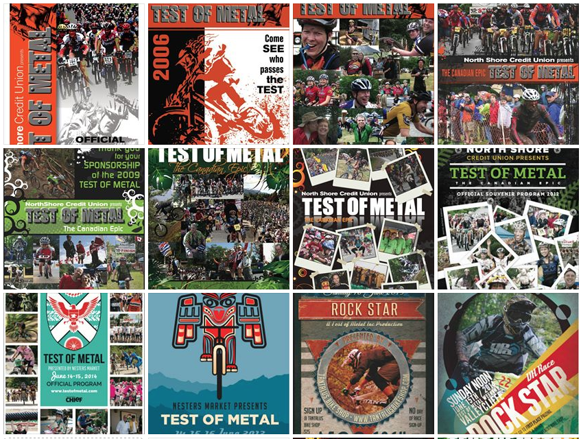 Test of Metal brands through the years